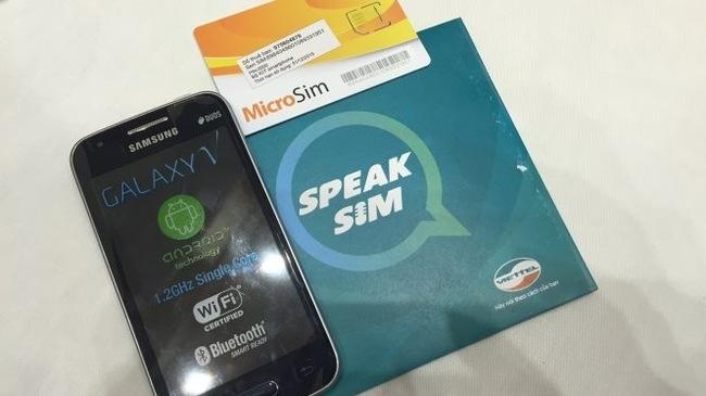 bộ kit speak sim viettel cho người khiếm thị