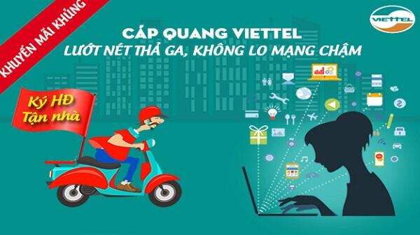 Viettel Quận Cẩm Lệ tại đà nẵng khuyến mãi internet cáp quang