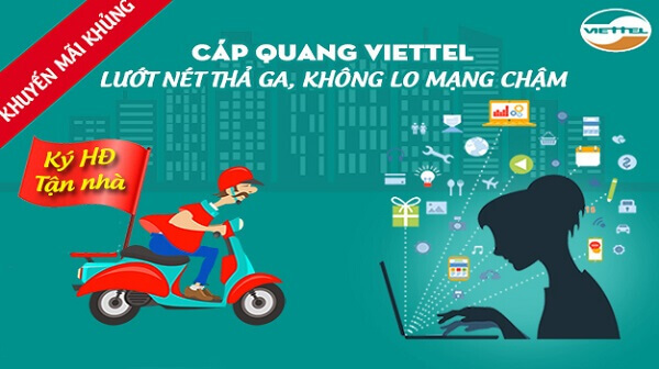 Viettel Quận Liên Chiểu tại đà nẵng khuyến mãi internet cáp quang