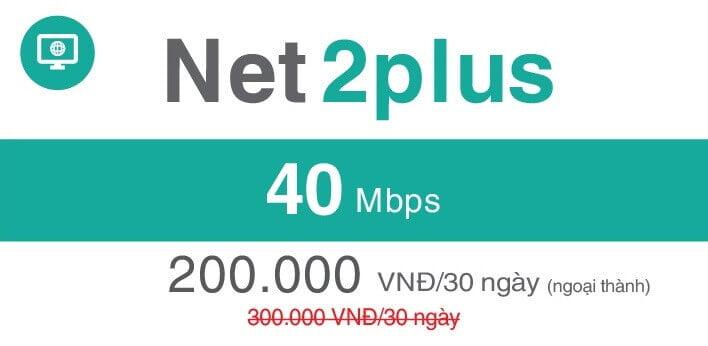 Net 2 Plus Viettel (ngoại thành)