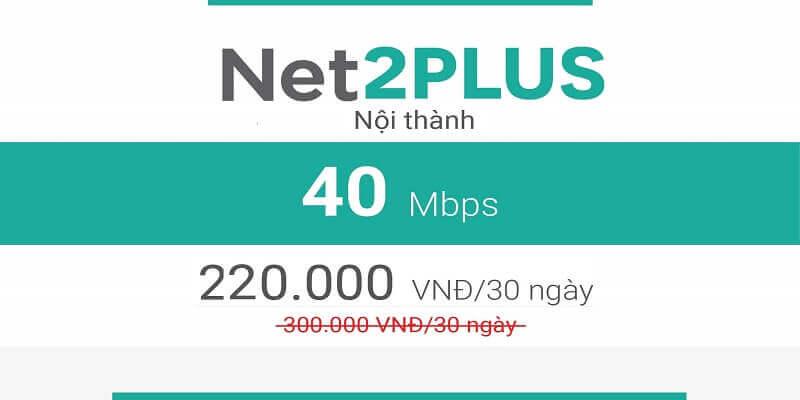 Net 2 Plus Viettel (nội thành)
