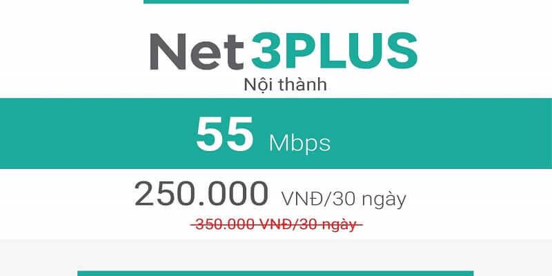 Net 3 Plus Viettel (nội thành)