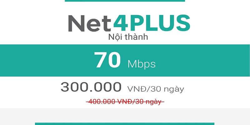 Net 4 Plus Viettel (nội thành)