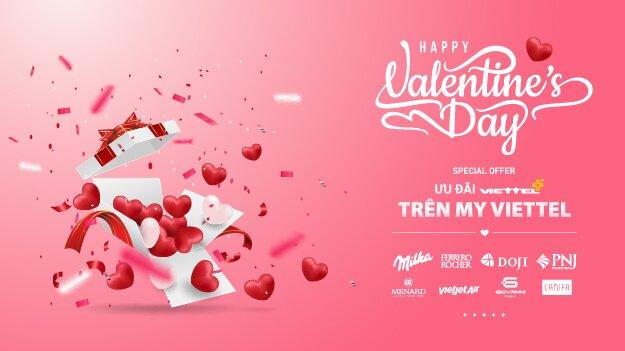 Ưu đãi dành riêng cho ngày Valentine từ Viettel++