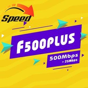 Gói Cước internet Cáp Quang F500 Plus Viettel