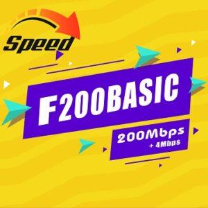 Gói Cước internet Cáp Quang F200 Basic Viettel
