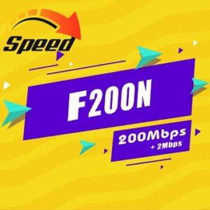 Gói Cước internet Cáp Quang F200N Viettel