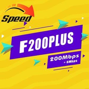Gói Cước internet Cáp Quang F200 Plus Viettel