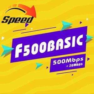 Gói Cước internet Cáp Quang F500 Basic Viettel
