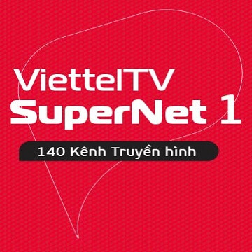 Gói Cước Internet Cáp Quang Và Truyền Hình Viettel SUPERNET1 (Nội Thành)