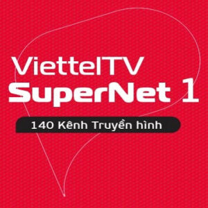 Gói Cước Internet Cáp Quang SUPERNET1 Và Truyền Hình Viettel