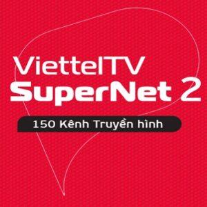 Gói Cước Internet Cáp Quang Và Truyền Hình Viettel SUPERNET2 (Nội Thành)