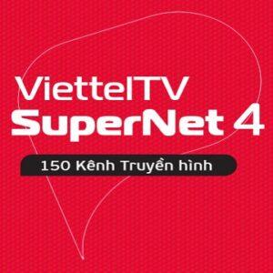 Gói Cước Internet Cáp Quang Và Truyền Hình Viettel SUPERNET4 (Nội Thành)