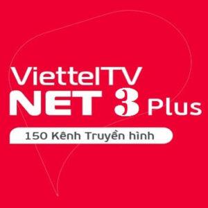 Gói Cước Truyền Hình Và Internet Cáp Quang Net3Plus Viettel