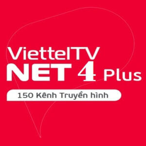 Gói Cước Truyền Hình Và Internet Cáp Quang Net4Plus Viettel